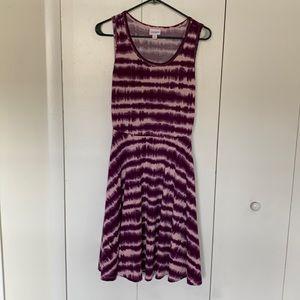 Purple Tie Dye Tank Dress 💜